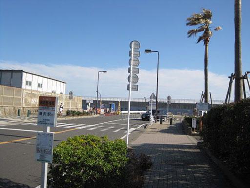 江の島駐車場入り口