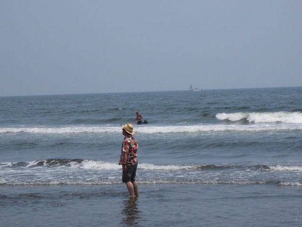 茅ヶ崎の海2011年7月