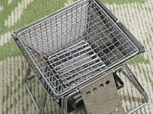 ロゴスピラミッドグリルの焼き網です。